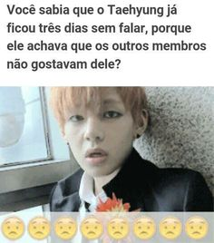 Entendo nosso TaeTae. Mas ainda assim dá uma dó Jimin Jungkook, V Taehyung, Bts Bangtan Boy, Bts Memes, K Pop, Saranghae, Que Horror, Bts Facts, Bts Imagine