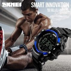 Smart Sports Watches silicon Leather Stainless Steel Tungsten Steel Led Digital Military Alarm Photography Fitness Tracker Message Reminder Dial Call Call Reminder Sleep Tracker Bluetooth Stop Watch Answer Call Calendar GPS Waterproof Football Team Kits, Soccer Kits, Sport Watches, Watches For Men, Football Equipment, Best Smart Watches, Huawei Watch, Remote Camera, Smart Men