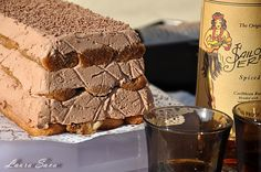 Diplomatico-desert fara coacere cu cafea si rom Romanian Food, Romanian Recipes, Frozen Custard, Sweet Tarts, Frozen Desserts, Goodies, Food And Drink, Ice Cream, Yummy Food