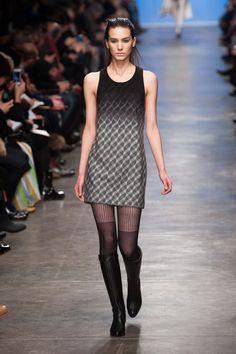 Amei a meia calça!  Missoni | Milão | Inverno 2013