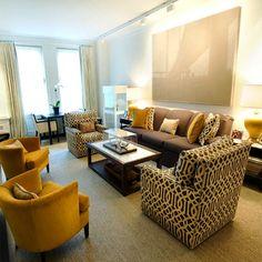 Mustard Living Room Accessories