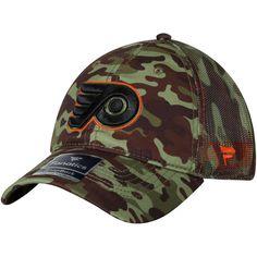 e958342057f Philadelphia Flyers Fanatics Branded Recon Trucker Adjustable Hat – Camo