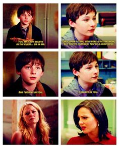 when they all think that Emma's the savior but really. Henry is the one doing all of it. He's the hero.