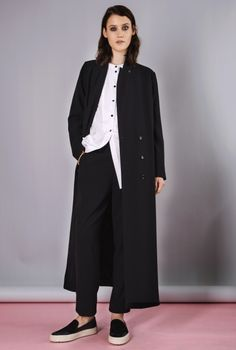 BLAZER/COAT VOULANA BLACK in the group All items / Dresses at Rodebjer Form AB (E100007999)