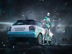 Vilner Create Promotional Audi A3 for ESET