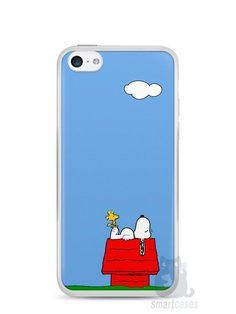 Capa Iphone 5C Snoopy #3 - SmartCases - Acessórios para celulares e tablets :)