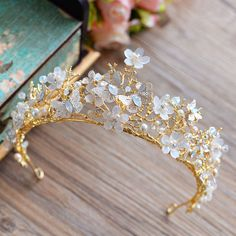 Would love to wear a tiara on my wedding day! I can just imagine it now, passing it on as a family heirloom to my children.