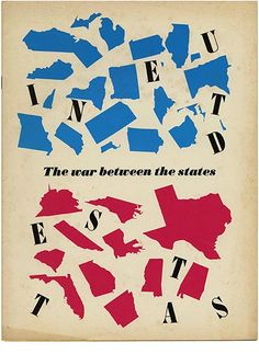 WESTVACO INSPIRATIONS FOR PRINTERS 216 The War Between the States Bradbury Thompson [Designer]. 1961.