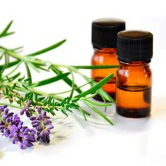 Lavender and Rosemary Homemade Hair Detangler