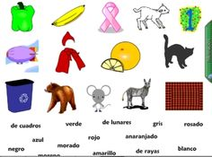 Spanish Colors Smart Board Vocabulary Games and Grammar by Sue Summers - Los Colores English Vocabulary List, Spanish Vocabulary, Vocabulary Games, Teaching Spanish, Spanish 101, Spanish English, Learn Spanish, Spanish Lessons, Smart Board Activities