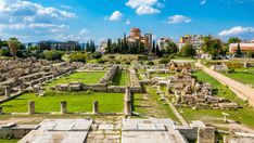 The best archaeological sites and museums to visit in Athens besides the Acropolis, including the cemetery of Kerameikos, the Ancient Agora, and Hadrian's Arch. Greece Tours, Greece Travel, Parthenon, Acropolis, Greek Sites, Greek History, Greece Holiday, Archaeological Site, Place Of Worship