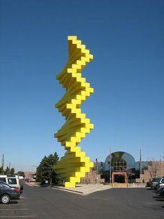 Sculpture, Colorado Denver, Articulated Wall, Denver Colorado, Art Museum S, Public Art, Denver Art