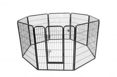 BestPet Hammertone Finish Heavy Duty Pet Playpen Dog Exercise Pen Cat Fence S, Total 8 Panels Each Panel is High, Wide One easy to open door and Heavy Duty Tube Frame Ship outside 48 States subject to extra fees Hammertone finish Dog Playpen, Pet Kennels, Large Dog Crate, Large Dogs, Small Dogs, Outdoor Dog, Indoor Outdoor, Heavy Duty Dog Crate, Cat Fence
