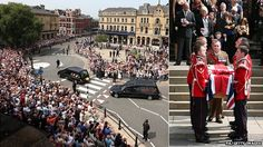 Lee Rigby: Military funeral for killed soldier #RIP