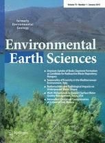 #geoubcsic Hydrochemical and stable isotopes (H, O, S) signatures in deep groundwaters of Parana basin, Brazil. Gil, ASI; Bonotto, DM. ENVIRONMENTAL EARTH SCIENCES V.73(1):95-113. [2015]. This paper describes a hydrochemical (major and trace elements) and stable isotopes (H, O, S) study of rainwater and groundwater in a Guarani Aquifer System (GAS) transect at São Paulo State, Brazil. The Brazilian Code of Mineral Waters (BCMW) was adopted for the groundwater temperature classification,...