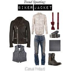 """Biker Jacket #3"" by vidal-antonio on Polyvore"