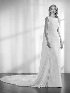 e23d579467db Zaida wedding dress by Studio St. Patrick from Pronovias www.zadikabridal.ie