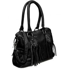 cfe607b6d7 Ikks - Sac shopping Noir Who's the Queen Cuir Be95209 02 - pas cher Achat / Vente  Sacs à main - RueDuCommerce