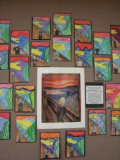 Munch - The Scream Artolazzi: 3rd grade