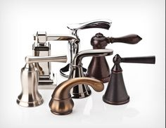 The Ultimate Bathroom Faucet Buying Guide: Pfister's array of faucet finishes