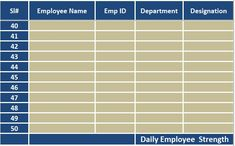 download employee attendance sheet excel template exceldatapro