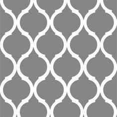 Living Room, Large Moroccan Wall Stencil Wall Decoration Ideas Decorative Black Simple Pattern Stencils Easy Stencil Decor Interior Wall Design Printable Geometric Wall Stencils Design Idea For Living Room Kitchen: Modern Printable Geometric Wall Stencils Wall Stencil Designs, Stencil Decor, Wall Stencil Patterns, Stencil Painting On Walls, Damask Stencil, Pattern Painting, Wall Design, Stencil Templates, Tole Painting