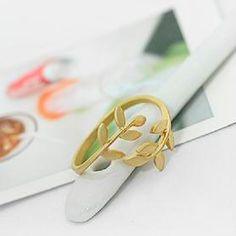 Anillo Corona de Laurel Oro  3,50 €   https://pixidixi.com/anillo-corona-de-laurel-oro/
