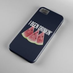 """Protect your Video Phone with this """"I been drinkin watermelon"""" phone case 