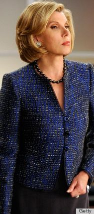 #WardrobeChallenge Diane Lockhart character on the Good Wife great suit, great color