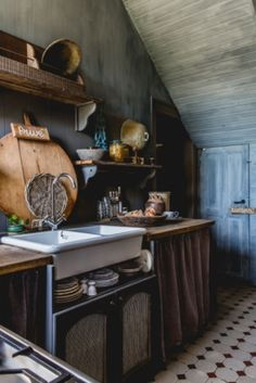 """This rustic kitchen is from our feature """"Renovation Rescue"""""""