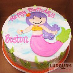 Mermaids eat cake too!