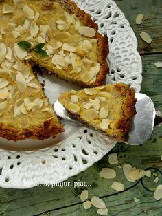 torta, pinjur, pjat...: Tart od badema i kupina
