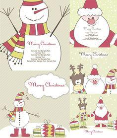cute christmas vector illustration