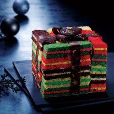 """2012 AU BON VIEUX TEMPS (TAKASHIMAYA Christmas Cake) """"Cubique gaie"""""""