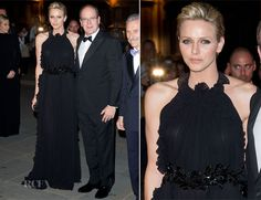 Charlene, Princess of Monaco | She's only held her Royal title since 2011, but she's already become a permanent fixture in the fashion world, favoring classic looks & neutral beige/black. A former Olympic competitive swimmer, Charlene wore a Giorgio Armani Privé wedding dress & counts Armani & Akris among her favorite designers.