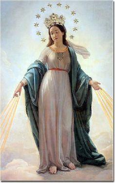 Madona del Milagro / 20 de Enero / Año: 1842 / Lugar: Iglesia Sant'Andrea alle Fratte, Roma, Italia / Aparición de la Virgen a Alfonso Ratisbonne.