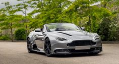 Take a look at the new Aston Martin Vantage V-12 Roadster – Includes a stunning seven-speed Sportshift III paddle-shift transmission mated to a 6.0-liter naturally aspirated V-12 engine that delivers 591 hp! Do you want to see this at the SPEEDVEGAS track?