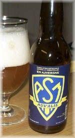 Cerveja L'Auv'Alie, estilo Belgian Golden Strong Ale, produzida por Brasserie Fleurac, França. 7.2% ABV de álcool.