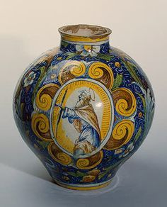 Second half of the 16th century Majolica