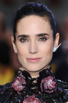 Rad Or Bad: Matching Your Makeup to Your Outfit #Refinery29 :: Jennifer Connelly KILLS It Yet Again
