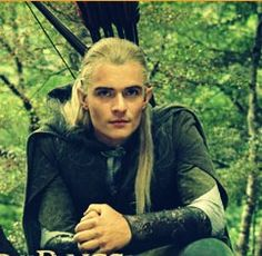 I did a LOTR extended edition marathon today as I painted my apartment and forgot how much I liked Orlando Bloom as Legolas. He can't act to save his life but he's pretty. And he's lethal!
