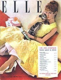 Brigitte Bardot - Elle Magazine [France] (August 1955)