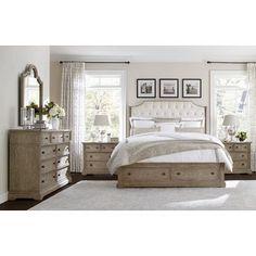Stanley Wethersfield Estate Upholstered Customizable Bedroom Set