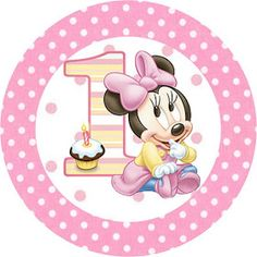 Minnie First Year with Polka Dots: Free Printable Candy Bar Labels. Theme Mickey, Mickey Party, Minnie Mouse 1st Birthday, Mickey Minnie Mouse, Mini Mouse, Baby Mouse, Disney Parties, Cupcakes Mickey, Minnie Mouse Images