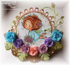 #cheeryld Add a Flourish Challenge winner! Bj decided to award 5 winners this week, the first is... Neala! http://nelasbasteleien.blogspot.de/2014/02/schaukelkarte-flower-fairy.html