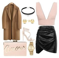 """""""Goin out"""" by grace-spindler on Polyvore featuring Animale, Steve Madden, Boohoo, WithChic, BCBGMAXAZRIA, MICHAEL Michael Kors and Jewelonfire"""