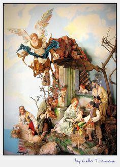 2x by Presepista, via Flickr Tall Christmas Trees, Christmas Nativity Set, Christmas Figurines, Christmas Images, Christmas Holidays, Nativity Sets, Christmas Ornament, Xmas, The Birth Of Christ