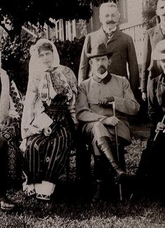 King Ferdianad and Queen Marie of Romania