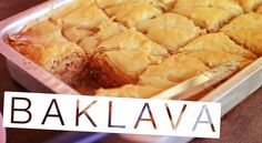 Baklava - Confissões de uma Doceira Amadora