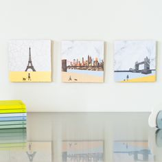 CityTiles (Paris, New York, London) - StoryTiles